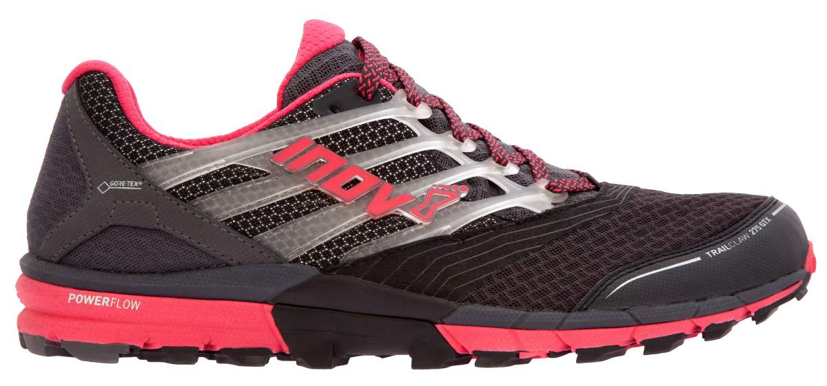 Inov-8 Кроссовки Trailtalon 275 GTX (S) жен. (5, Grey/Pink, , ,) inov 8 футболка at c tri blend ss strip w 6 black pink