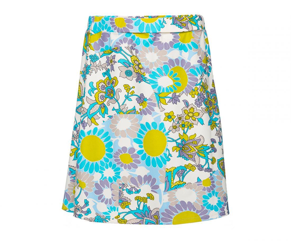 Юбка Sole ДетскаяПлатья, юбки<br>Яркая расцветка будет создавать солнечное настроение на целый день. Удобный крой солнце-клеш позволяет двигаться свободно и легко. Благодаря функциональным особенностям ткани юбка Sole хорошо тянется, быстро сохнет и не мнется.<br><br>Цвет: Голубой<br>Размер: 152