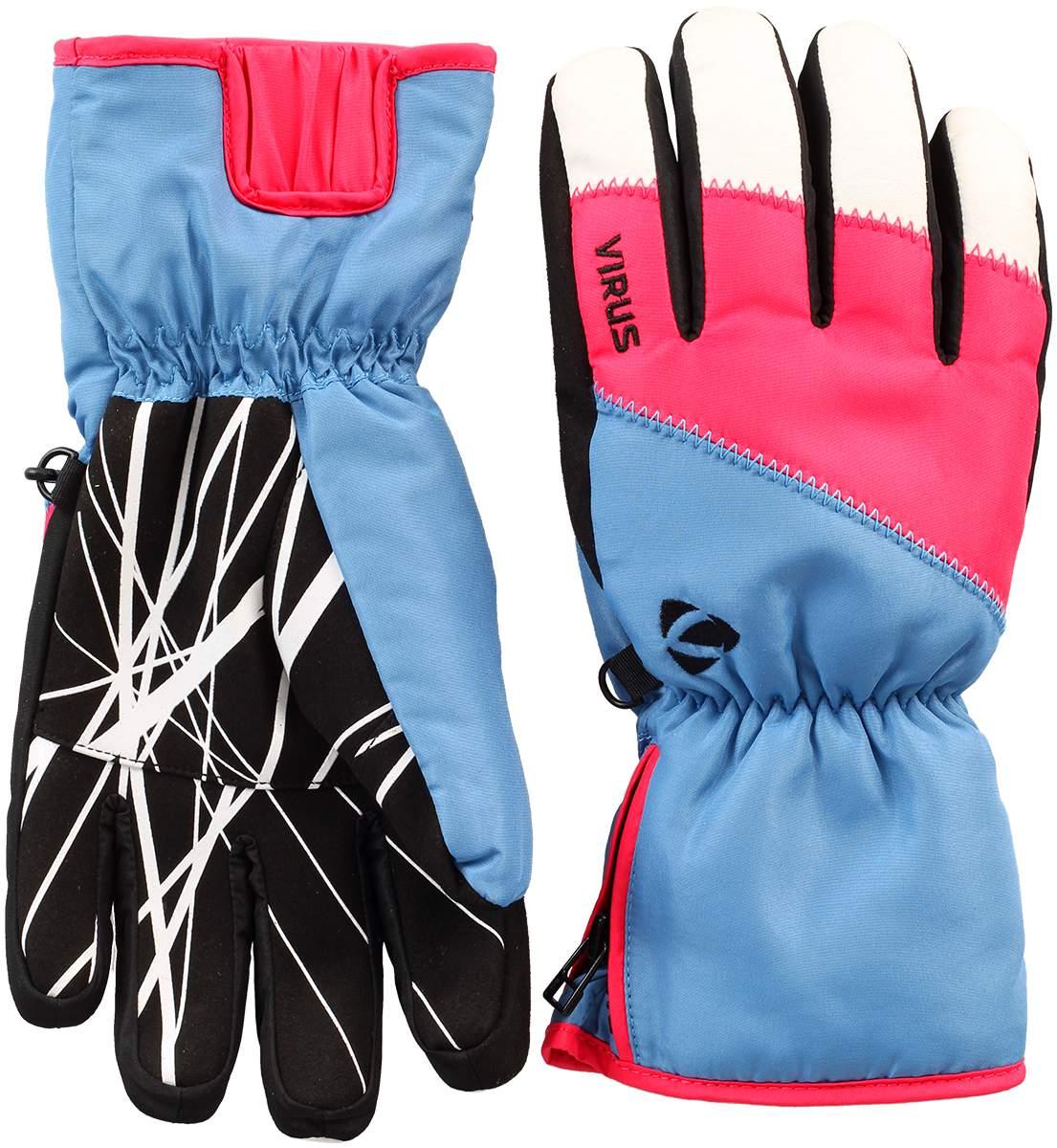 Перчатки Trail W женскиеПерчатки<br><br><br>Цвет: Голубой<br>Размер: XL