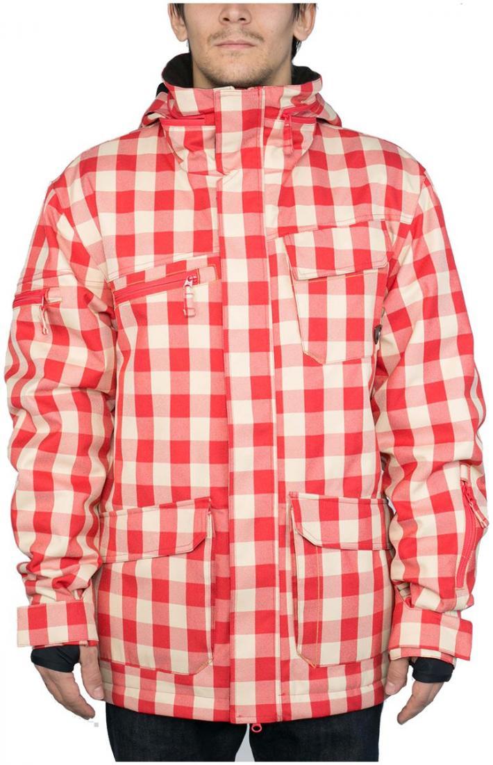 Куртка утепленная STarКуртки<br><br>Утепленная мужская сноубордическая куртка для покорения сложных трасс и парка. Классическая посадка не стесняет движений, позволяя чувствовать себя комфортно. Разнообразные карманы с контрастной отстрочкой служат не только функциональным элементом, ...<br><br>Цвет: Красный<br>Размер: 56