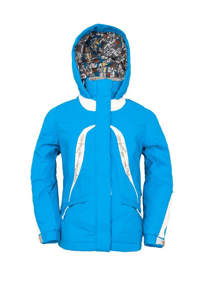 Куртка утеплённая Plumelet II детскаяКуртки<br><br> Утепленная куртка для девочек от 8 лет, предназначена для ношения в холодное время года. Куртка надежно защищает от дождя, ветра и холода благодаря материалу и регулируемым застёжкам. А вышивка, яркие цвета и современный дизайн подарят радостное на...<br><br>Цвет: Бирюзовый<br>Размер: 152