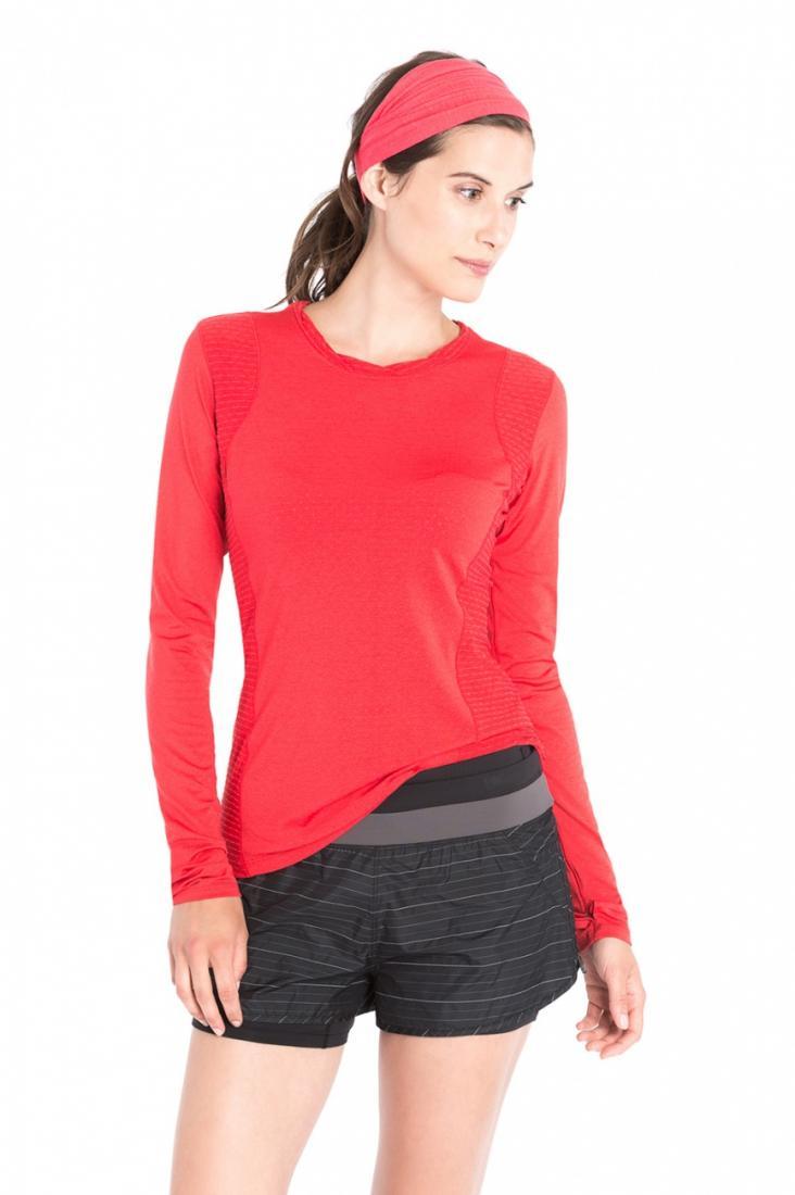 Топ LSW1466 GLORY TOPФутболки, поло<br><br> Функциональная футболка с длинным рукавом создана для яркого настроения во время занятий спортом. Мягкая перфорированная фактура и функциональные свойства ткани 2nd skin Pop обеспечивают исключительный дышащие свойства. Модель выполнена из технолог...<br><br>Цвет: Красный<br>Размер: M
