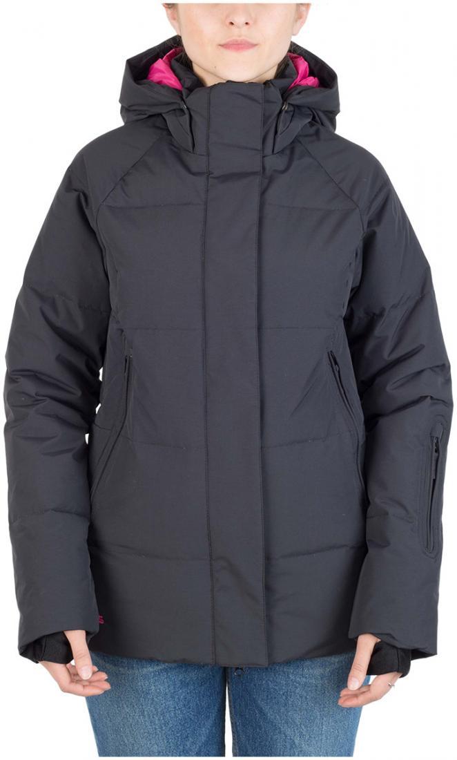 Куртка пуховая Cute W жен.Куртки<br><br><br>Цвет: Черный<br>Размер: 48