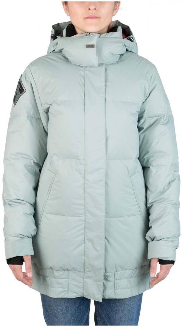 Куртка пуховая IC женскаяКуртки<br>Пуховик женственной формы «тюльпан» для девушек, которые не хотят потеряться на склоне. Обладая всем функционалом катальной куртки и уте...<br><br>Цвет: Серый<br>Размер: 42