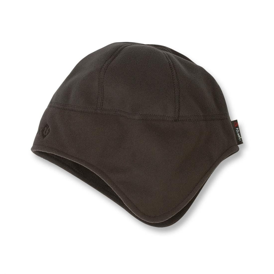 Шапка FiordШапки<br><br> Теплая непродуваемая шапка из материала Polartec®Windbloc®.<br><br><br> Основные характеристики<br><br><br>облегающий анатомический крой<br>особенный дизайн для дополнительной защиты ушей<br><br> Особенности<br><br>&lt;...<br><br>Цвет: Черный<br>Размер: 56