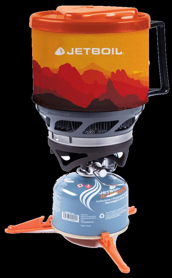 Комплект горелка с кастрюлей MiniMo от Jetboil