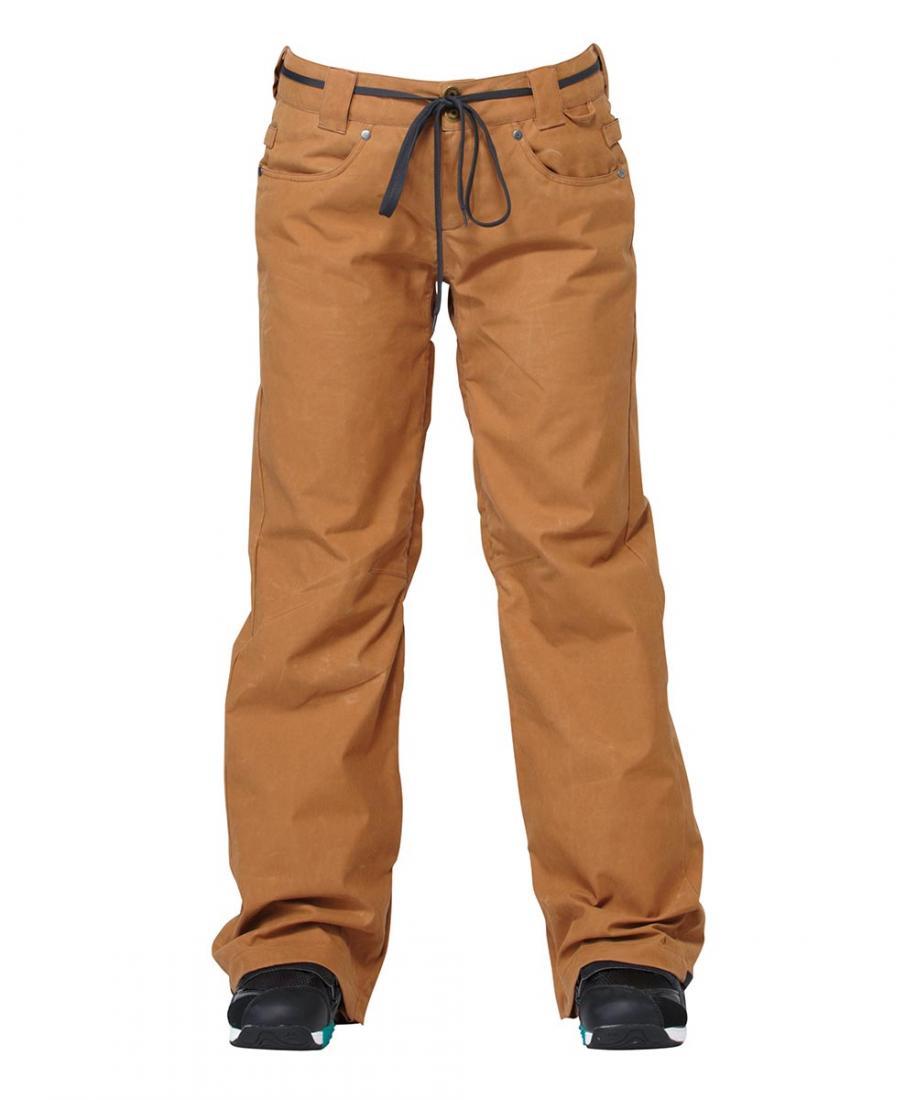 Брюки VIVAБрюки, штаны<br>Женские сноубордические брюки VIVA созданы для тех модниц, кто не готов расстаться с любимыми джинсами ни при каких обстоятельствах. Вдохновленные образами стрит-фэшн разработчики DC SHOES использовали при пошиве модели нейлоновую саржу с текстурой под...<br><br>Цвет: Хаки<br>Размер: XS