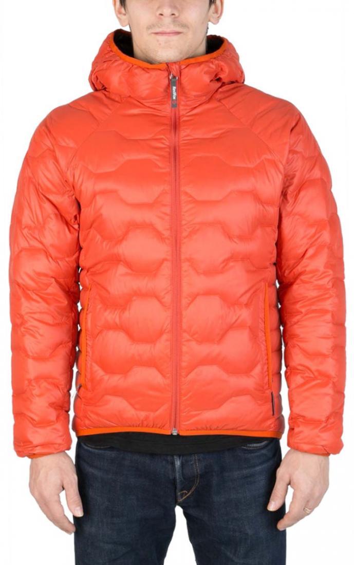 Куртка пуховая Belite III МужскаяКуртки<br><br> Легкая пуховая куртка с элементами спортивного дизайна. Соотношение малого веса и высоких тепловых свойств позволяет двигаться активно в течении всего дня. Может быть надета как на тонкий нижний слой, так и на объемное изделие второго слоя.<br><br>...<br><br>Цвет: Оранжевый<br>Размер: 48