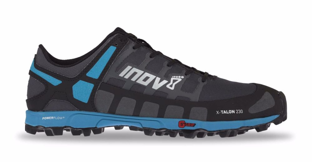 Inov-8 Кроссовки X-TALON 230 муж. (9, Grey/Blue, , ,) inov 8 футболка base elite lsz w xl barberry