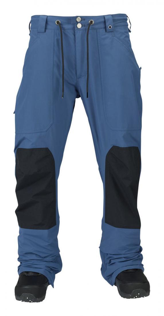Брюки г/л MB WALDEN PTБрюки, штаны<br><br> Модель Burton MB Walden Pants — это яркий пример функциональных и практичных брюк в уличном стиле. Они отлично подходят для занятий активными видами зимнего спорта и туризма, а также станут настоящей находкой для тех, кто часто вынужден работать на...<br><br>Цвет: Синий<br>Размер: XL