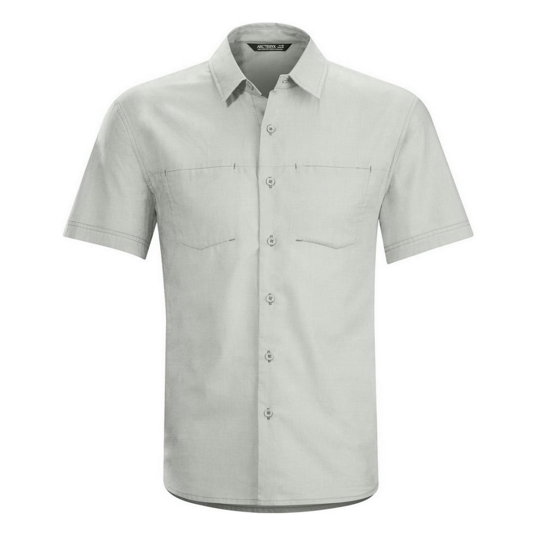Рубашка Joffre SS Shirt муж.Рубашки<br><br> Arcteryx Joffre SS Shirt Mens – стильная мужская рубашка с коротким рукавом для повседневной носки в городе. Модель также пригодится в путешествии: ...<br><br>Цвет: Серый<br>Размер: L