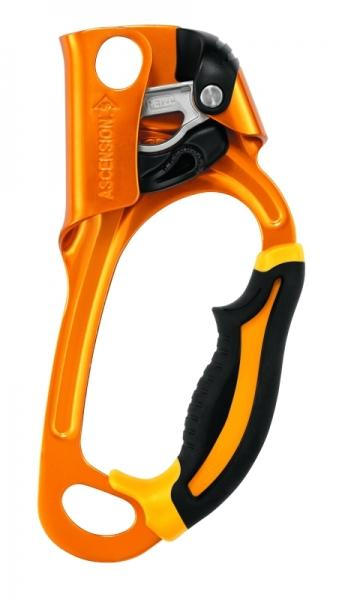 Petzl Зажим ЖУМАР ASCENSION левый (, Yellow, ,) petzl stop sb