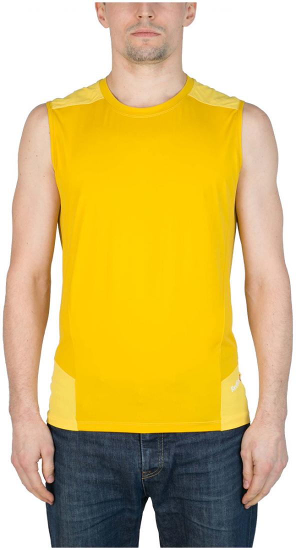 Майка Amplitude МужскаяФутболки, поло<br><br><br>Цвет: Желтый<br>Размер: 52