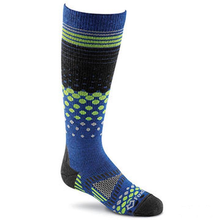 Носки лыжные 5106 Okemo LW дет.Носки<br><br>Детские лыжные носки FoxRiver 5106 Okemo LW сохранят ноги ребенка в тепле и сухости в холодное время года. В состав носков входит мериносовая шерсть, что гарантирует отличную теплоизоляцию, быстрое высыхание, мягкость и комфорт, отсутствие раздражен...