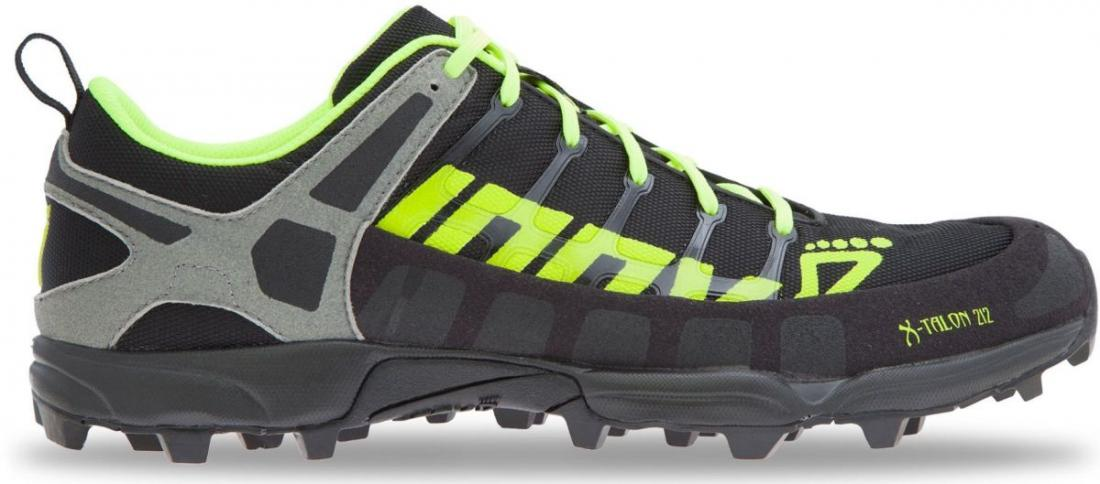 Inov-8 Кроссовки X-Talon 212 (P) (11.5, Black/Yellow/Grey, , ,) inov 8 носки racesoc mid m grey black