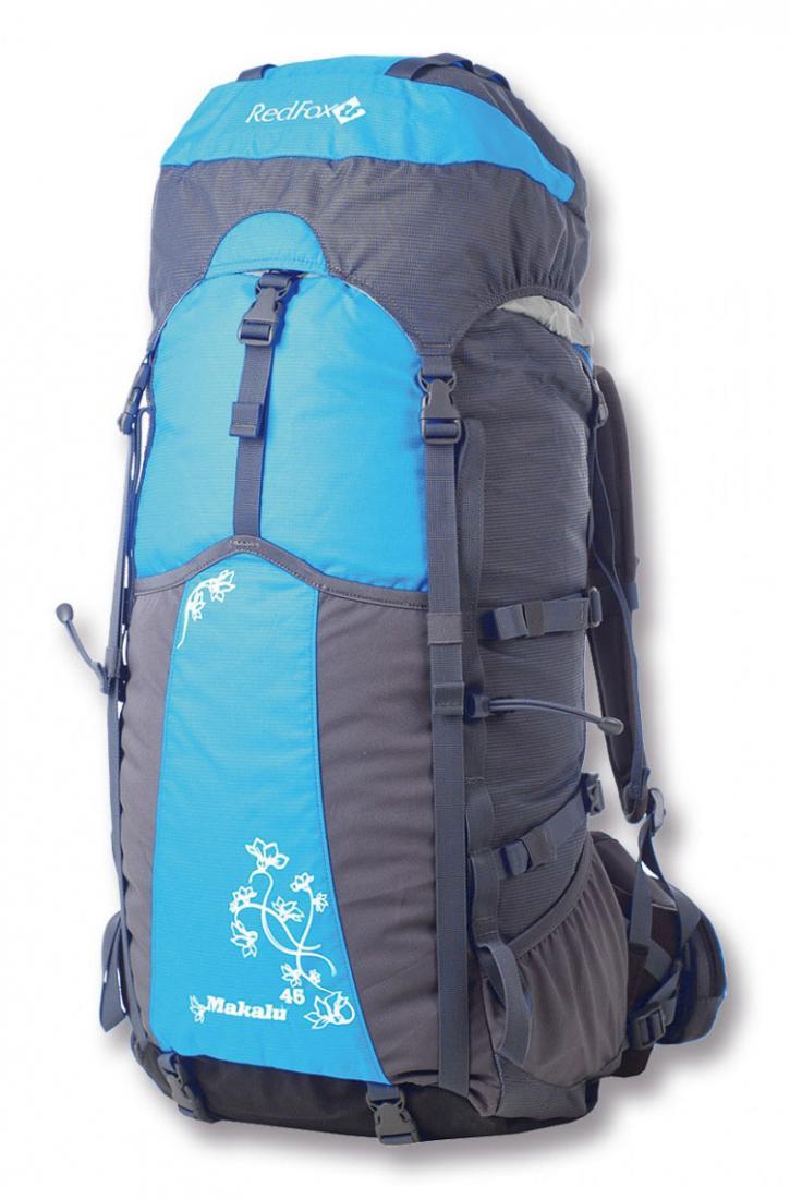 Рюкзак Makalu 45 WLРюкзаки<br><br><br>Цвет: Голубой<br>Размер: 45 л