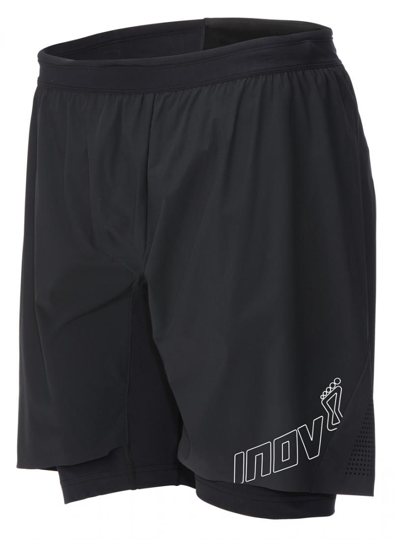 Inov-8 Шорты AT/C 8 (ultra twin short) M (XL, Black, ,) inov 8 футболка at c tri blend ss strip w 6 black pink