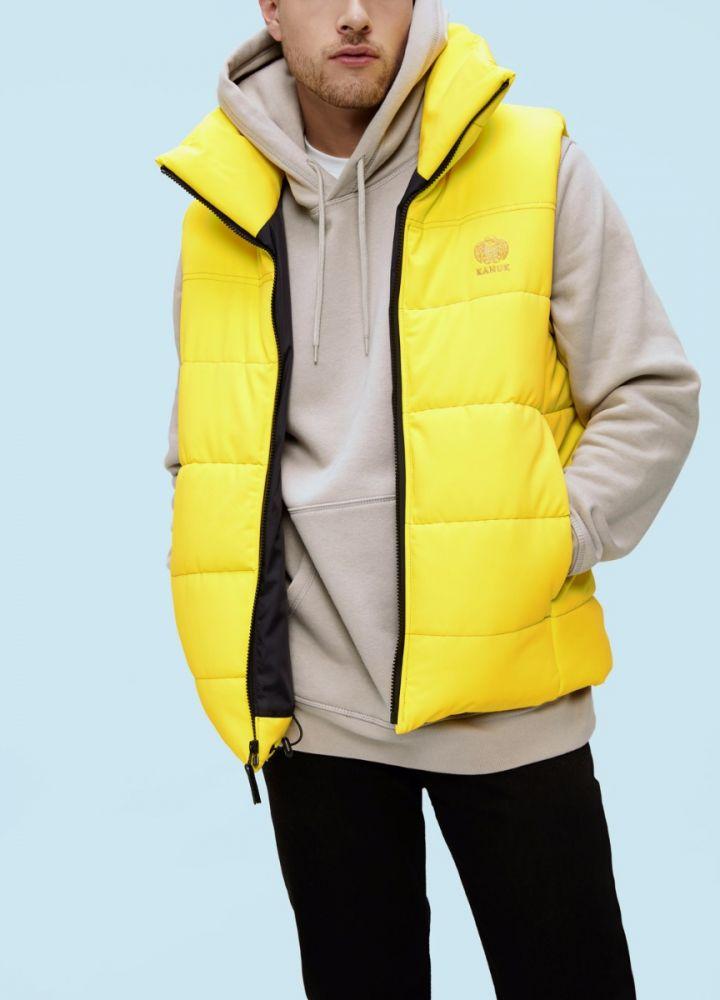 Kanuk Жилет мужской утепленный SIROCCO (M, Yellow, , ,) цены онлайн