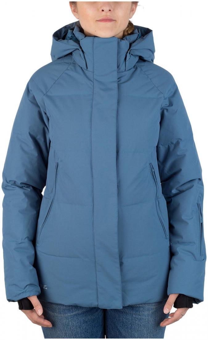Куртка пуховая Cute W жен.Куртки<br><br><br>Цвет: Темно-синий<br>Размер: 42