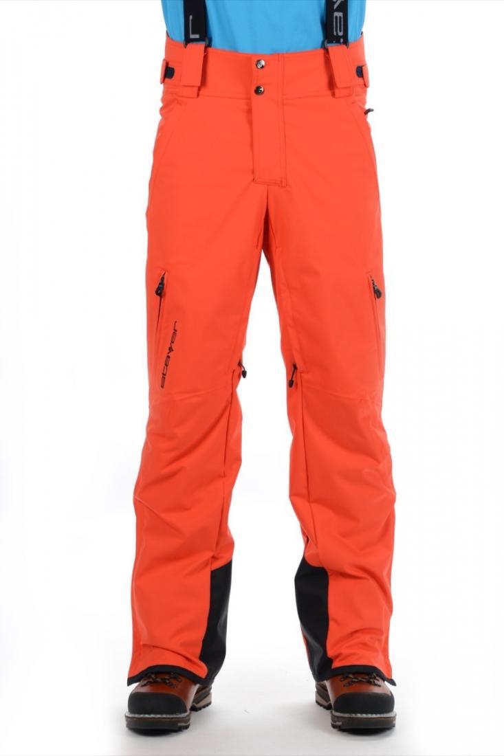 Брюки утепленные 22516Брюки, штаны<br>Горнолыжные брюки из высокотехнологичного материала с оптимальными показателями ветро-влагозащиты и паропроницаемости в сочетании с эластичными свойствами для обеспечения свободы движений в различных условиях. Данное изделие может комплектоваться со вс...<br><br>Цвет: Черный<br>Размер: 58