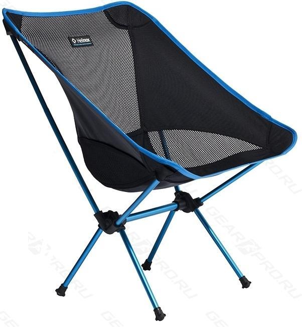 Стул Helinox  Chair OneКемпинговая мебель<br>Максимально комфортный и легкий стул. Занимает немного места в сложенном состоянии и весит всего 840 г. Этот стул - незаменимая часть багажа каждого путешественника, туриста, велосипедиста, байкера. Он создан для всех и каждого. Был спроектирован фирмо...<br><br>Цвет: Голубой<br>Размер: None