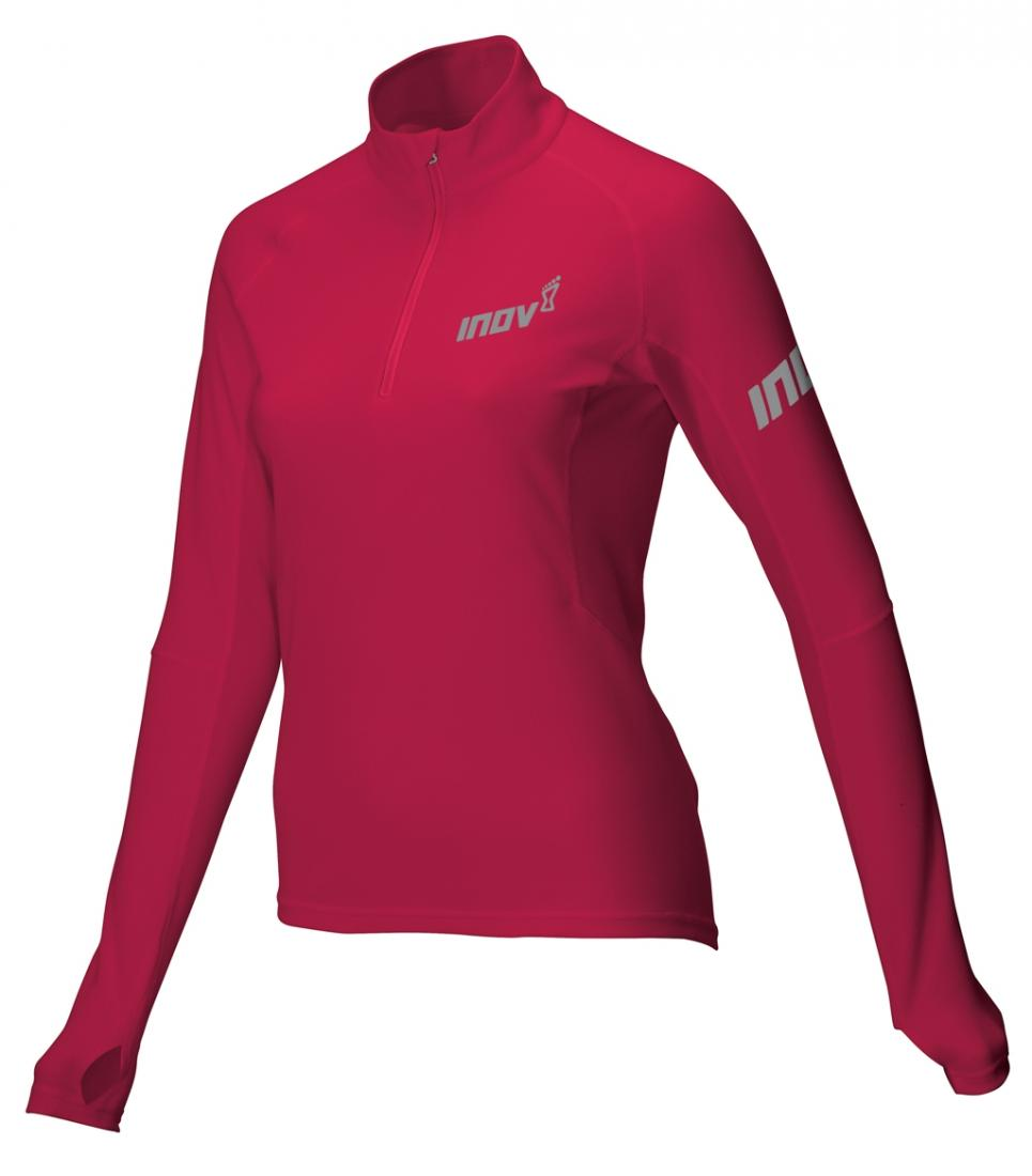 Inov-8 Футболка Base Elite LSZ W (XL, Barberry, ,) inov 8 футболка at c tri blend ss strip w 6 black pink