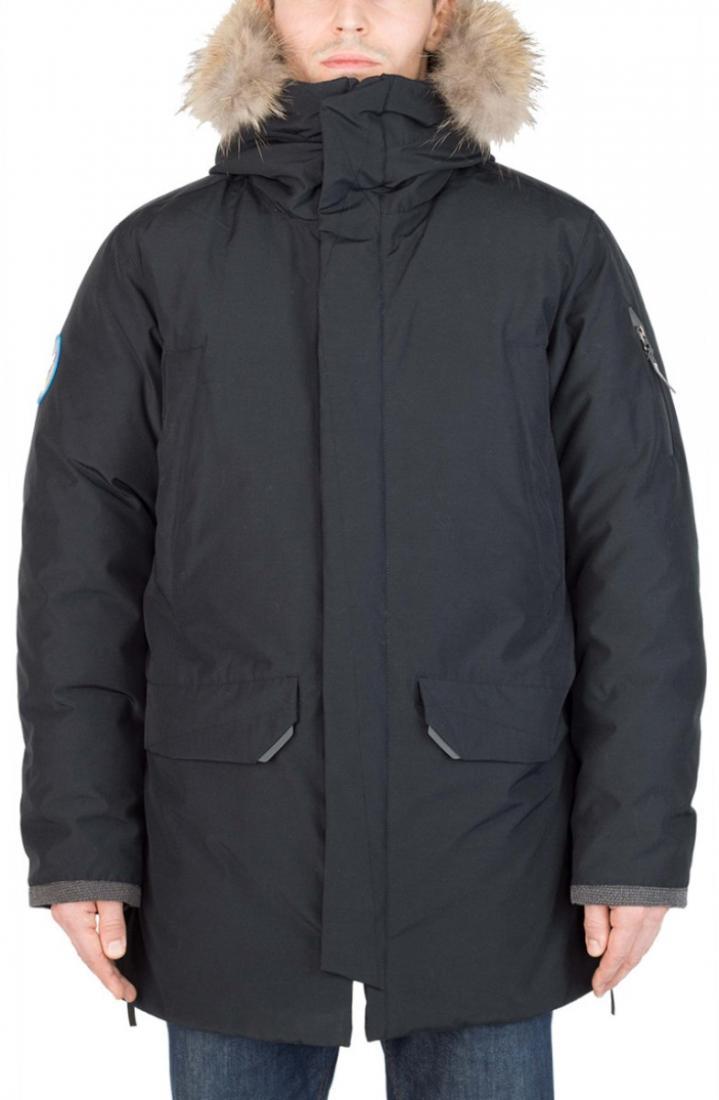Полупальто пуховое Tundra МужскоеПальто<br><br> Самая теплая пуховая модель коллекции Nordic Styleдля использования в условиях сверхнизких температур.<br><br><br> Основные характеристики:...<br><br>Цвет: Черный<br>Размер: 56