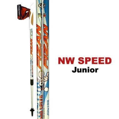 Палки телескопические NW SPEED JRТреккинговые палки<br><br><br>Цвет: Оранжевый<br>Размер: None