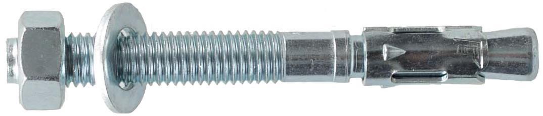 Болт #172 Покрытый металлом Сталь от Fixe