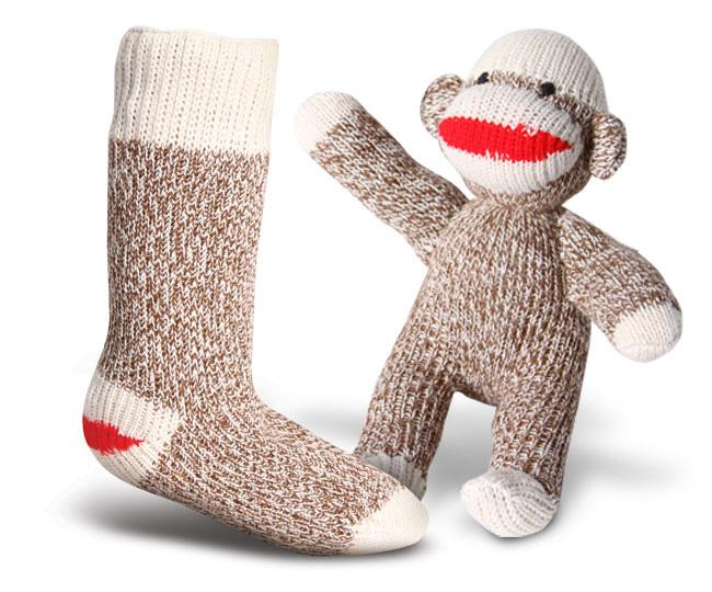фото Носки 6851-2 RED HEEL MONKEY SOCK