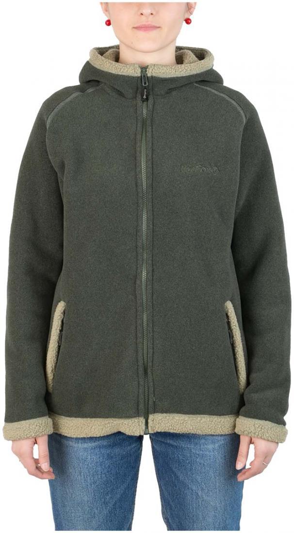 Куртка Cliff II ЖенскаяКуртки<br><br> Модель курток cliff признана одной из самых популярных в коллекции Red Fox среди изделий из материалов Polartec®: универсальна в применении, обладает стильным дизайном, очень теплая.<br><br><br> <br><br><br><br><br>Материал – Polarte...<br><br>Цвет: Зеленый<br>Размер: 48