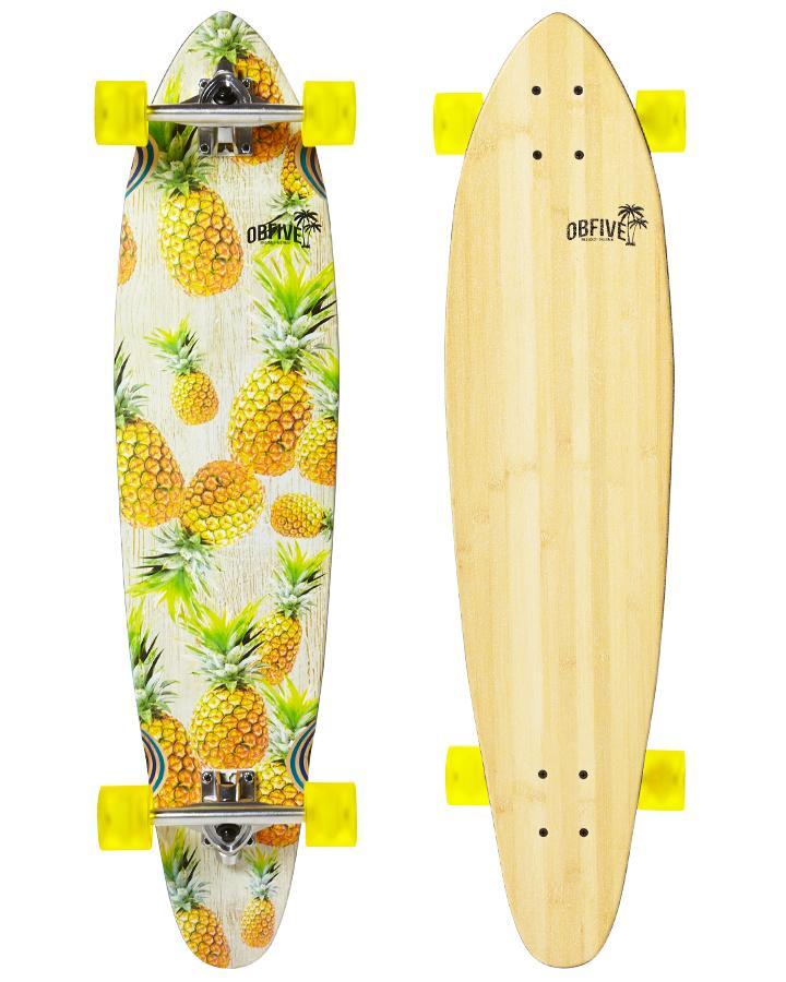 OBfive Лонгборд Pineapple Vibes Longboard