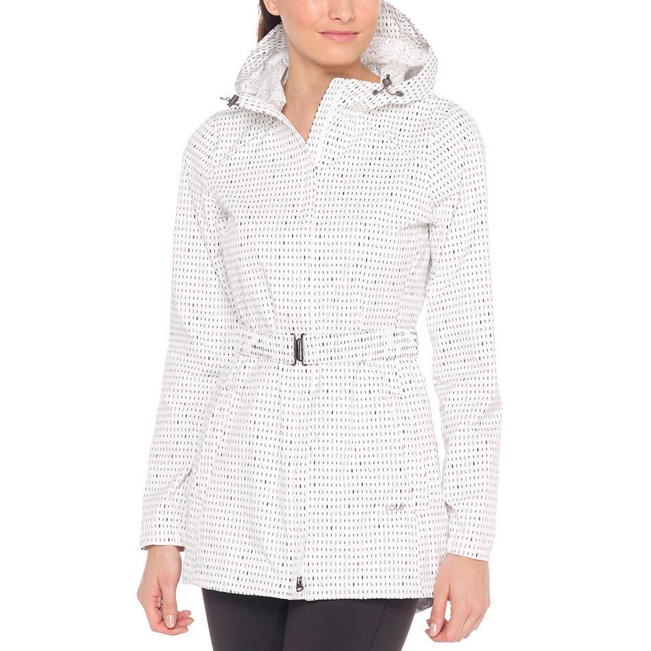 Куртка LUW0281 STRATUS JACKETКуртки<br><br><br><br> Непогода не повод отменять прогулку, если у вас есть стильная непромокаемая женская куртка Lole Stratus Ja...<br><br>Цвет: Белый<br>Размер: L
