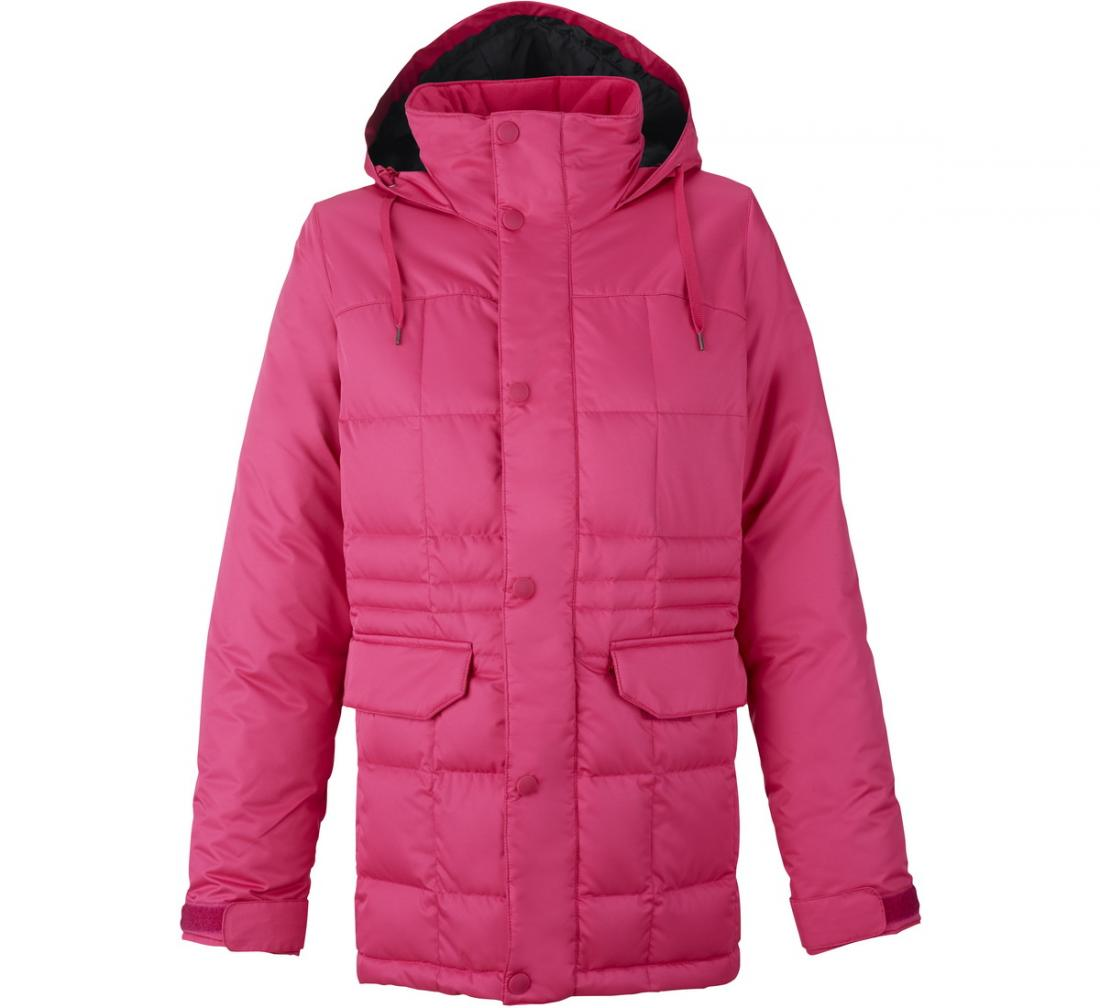 Куртка WB AYERS DWN JK жен. г/лКуртки<br><br> Легкая, теплая, функциональная куртка AYERSDWNс яркой подкладкой создана для ценительниц активного зимнего отдыха и спорта. Ее можно назвать универсальной, поскольку модель отлично подойдет как для занятий сноубордингом, так и в качестве городского...<br><br>Цвет: Розовый<br>Размер: S