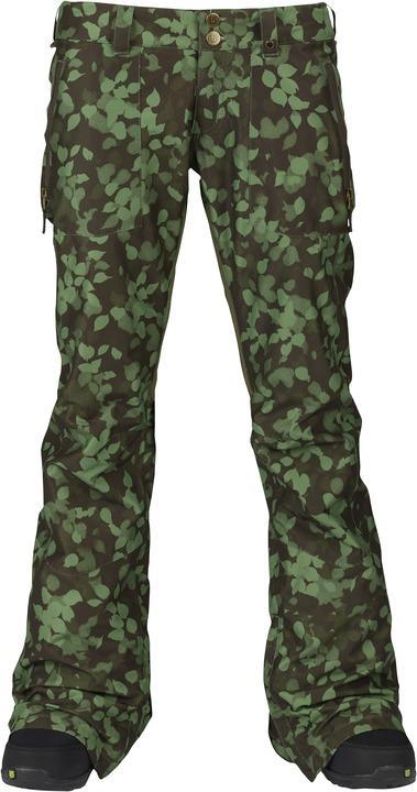Брюки жен. г/л WB SKYLINE PTБрюки, штаны<br>Skyline – женские сноубордические брюки расклешенного кроя с посадкой по фигуре. В них вы будете чувствовать себя столь же удобно и расслабленно, как если бы надели любимые джинсы. Современные материалы от бренда Burton обеспечивают оптимальную вентиляцию...<br><br>Цвет: Хаки<br>Размер: L