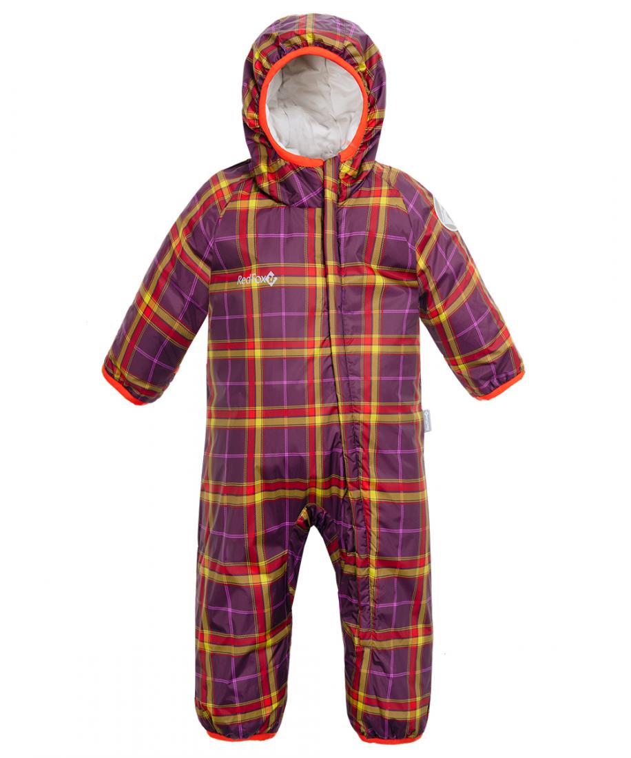 Комбинезон утепленный Baby Fox II ДетскийКомбинезоны<br>Мягкий, легкий и теплый комбинезон для малышей. Капюшон, ветрозащитная планка и отворачивающиеся манжеты с окантовкой защитят ребенка от холода и ветра даже в самую ненастную погоду. Благодаря диагональной молнии, комбинезон удобно одевать и снимать.&lt;/...<br><br>Цвет: Фиолетовый<br>Размер: 92
