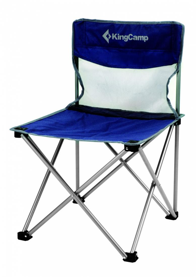 Стул King Camp  3832 скл.сталь Compact chairКемпинговая мебель<br><br><br>Цвет: Синий<br>Размер: None