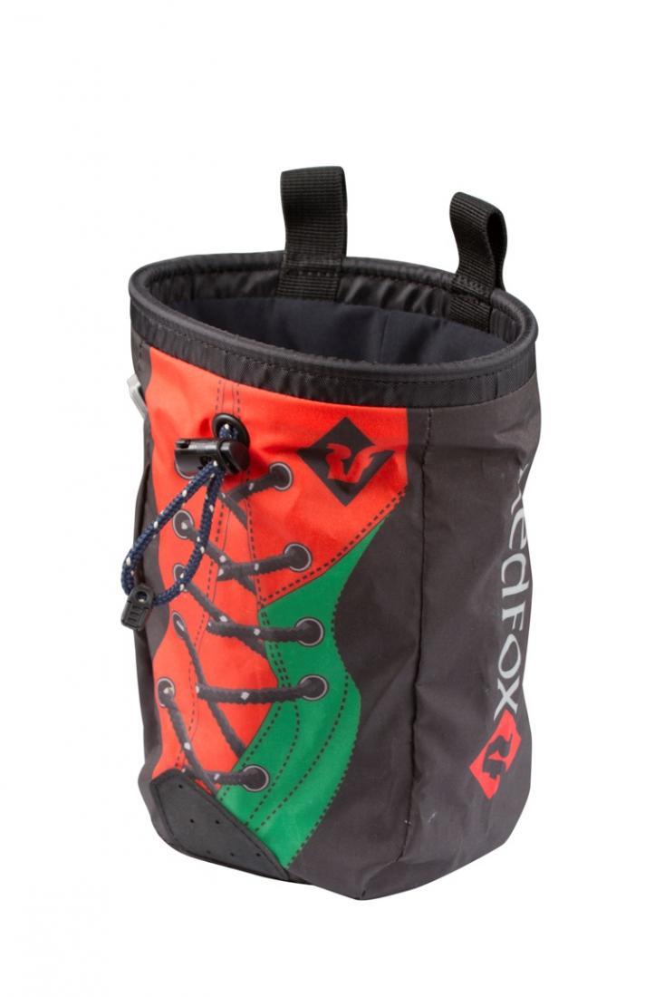 Фото - Мешок для магнезии Shoe от Red Fox Мешок для магнезии Shoe (, 4013/серый/красный, ,)