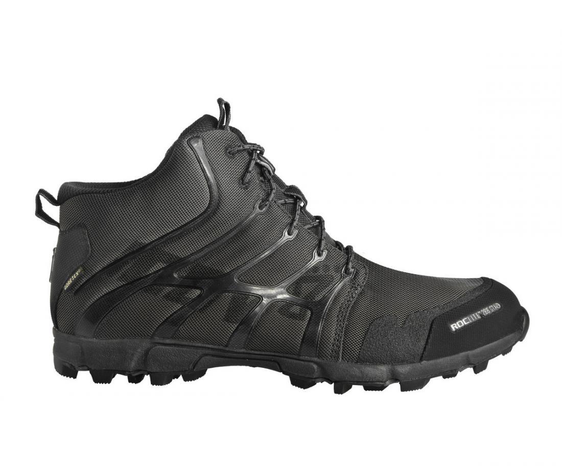 Кроссовки Roclite 286 GTXТреккинговые<br>Самый легкий в мире ботинок Gore-Tex®. Укрепленная зона пальцев ноги, защищает ногу от ушибов. Gore-tex® - технология<br> обеспечивает сухость. Специальные шипы обеспечивают комфорт на грязевых поверхностях.<br><br>Вес: 286г.<br><br>Коло...<br><br>Цвет: Черный<br>Размер: 7.5