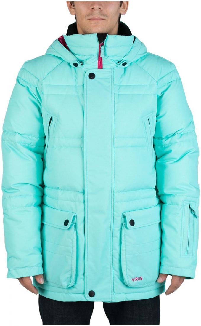 Куртка пуховая PlusКуртки<br><br> Пуховая куртка Plus разработана в лаборатории ViRUS для экстремально низких температур. Комфорт, малый вес и полная свобода движения – вот ...<br><br>Цвет: Голубой<br>Размер: 50