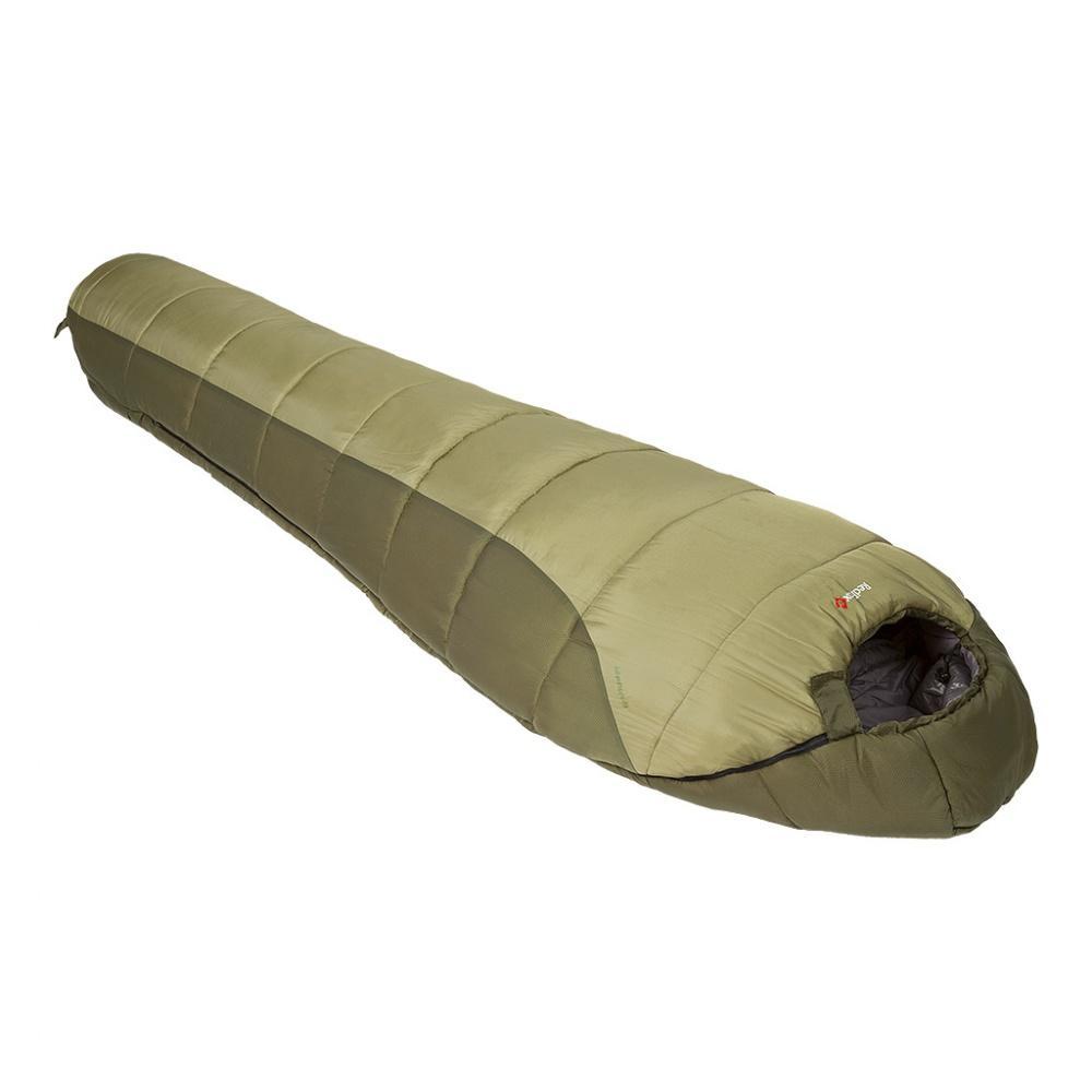 Спальный мешок Adventure-10 rightТуристические<br>Комфортный спальный мешок для треккинга, рассчитанный на использование при низких температурах. Мягкий синтетический двухслойный утеплитель создает отличную теплоизоляцию даже во влажных условиях. Удобный капюшон модели обеспечивает максимальное сохран...<br><br>Цвет: Хаки<br>Размер: XL Long