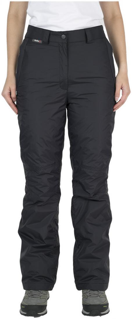 Брюки утепленные Husky ЖенскиеБрюки, штаны<br><br> Утепленные брюки свободного кроя. высокая прочность наружной ткани, функциональность утеплителя и эргономичный силуэт позволяют ощут...<br><br>Цвет: Черный<br>Размер: 42