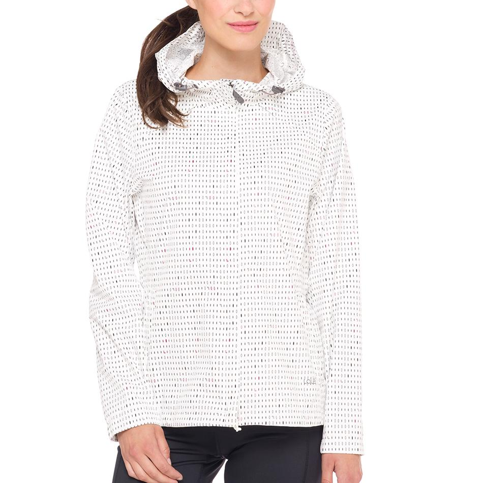 Куртка LUW0282 CUMULUS JACKETКуртки<br><br><br><br> С женской курткой Lole Cumulus Jacket дождь не застанет вас врасплох. Достаточно накинуть капшон, и непогода не сможет помешать вам наслаждатьс прогулкой или путешествием. Модель LU...<br><br>Цвет: Белый<br>Размер: XS
