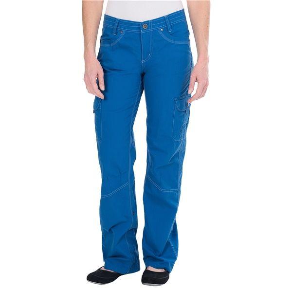 Брюки Splash Roll UpБрюки, штаны<br><br> Удобные женские брюки Splash Roll Up от компании Kuhl – оптимальный выбор для городских прогулок, путешествий и активного отдыха. Пошитая из эластичной, прочной ткани на основе хлопка с добавлением синтетических волокон, модель хорошо сидит по фигу...<br><br>Цвет: Голубой<br>Размер: 4