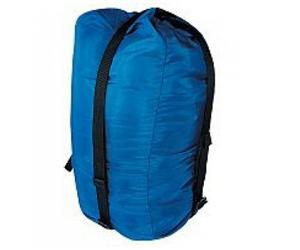 Компрессионный мешокАксессуары<br><br> Компрессионный мешок большой - мешок предназначен для более компактной упаковки вещей (спальник, пуховая куртка и пр.) в путешествии.<br><br><br>назначение: туризм, экспедиции<br>материал: Nylon 420<br>объем, л: 30<br>вес...<br><br>Цвет: Синий<br>Размер: 30 л