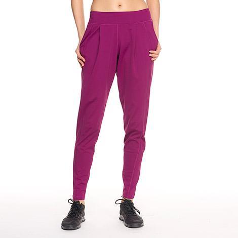 Брюки LSW1357 TALISA PANTSБрюки, штаны<br><br><br><br> Удобные женские брюки свободного кроя Lole Talisa Pants изготовлены из удивительно мягкой ткани. Модель LSW1357 создана специально для занятий йогой, пилатесом или комфортных прогулок...<br><br>Цвет: Бордовый<br>Размер: M