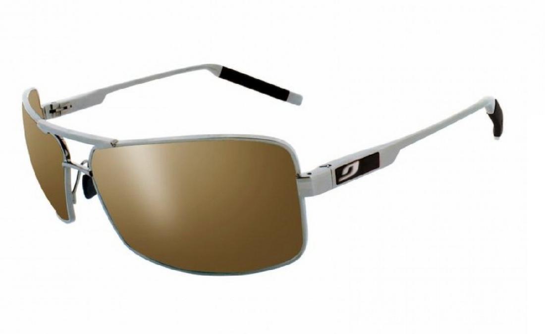 Очки Core 443Очки<br>Качественные солнцезащитные очки от Julbo в тонкой металлической оправе. Линзы из высокопрочного поликарбоната Spectron 3.<br><br>Модель: мужск...<br><br>Цвет: Серый<br>Размер: None