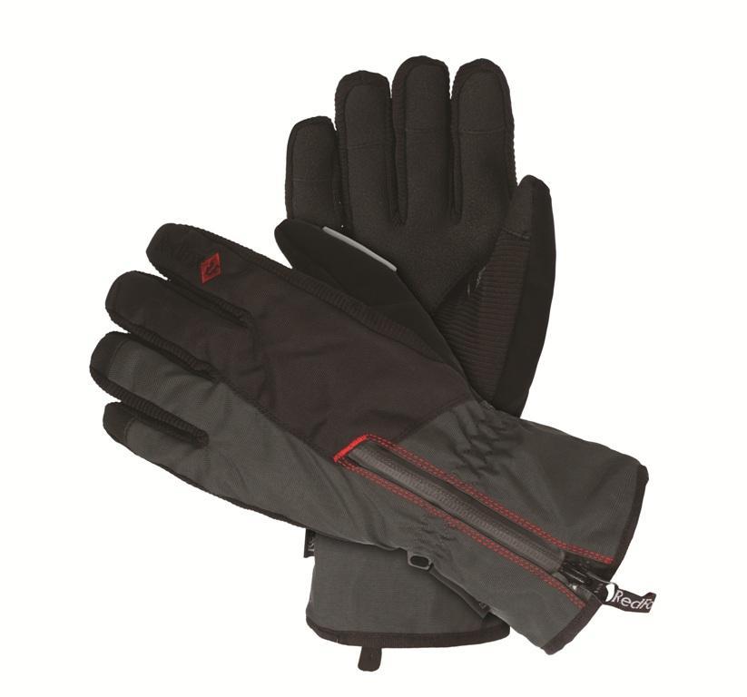 Перчатки Ride II ЧерныйПерчатки<br><br> Утепленные перчатки для зимних видов спорта.<br><br><br> Основные характеристики<br><br><br>анатомическая форма<br>усиления в области ладони<br>манжеты с регулировкой объема на молнии<br>DWR обработка внешней ткани<br><br><br>Особенности<br><br>Основное назначение: Горные виды спорта<br>Материал: 100% nylon, 238 g/sqm, DWR<br><br>Материал 2: Dryzone: 60% nylon, 40% Polyurethane<br><br>Усиление: Griptex, 92% Polyvinyl chloride, 8% Polyester, 690 g/sqm<br><br>Утеплитель: omnitherm® Classic, 90 g/sqm<br><br>Размерный ряд: M,L,XL<br><br><br>Цвет: Черный<br>Размер: L