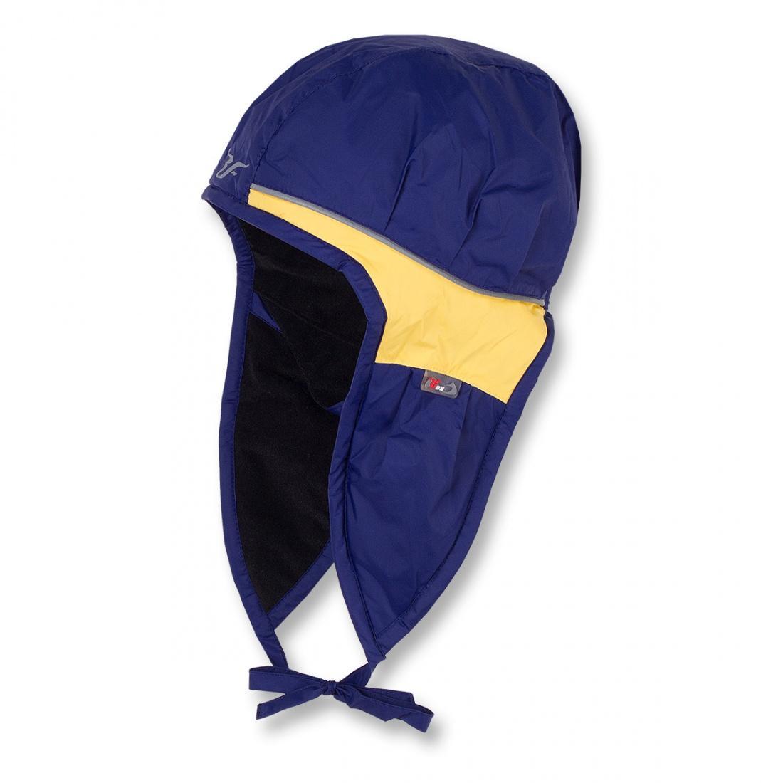 Шапка детская TressУшанки<br><br> Яркая контрастная шапочка прекрасно выделяет ребенка из толпы.<br><br> <br><br><br><br> Основной материал – Dry Factor 1000.<br><br> <br><br><br> Утеплитель – Omniterm Classic.<br><br> <br><br><br> Для детей от 1 до...<br><br>Цвет: Синий<br>Размер: XXL