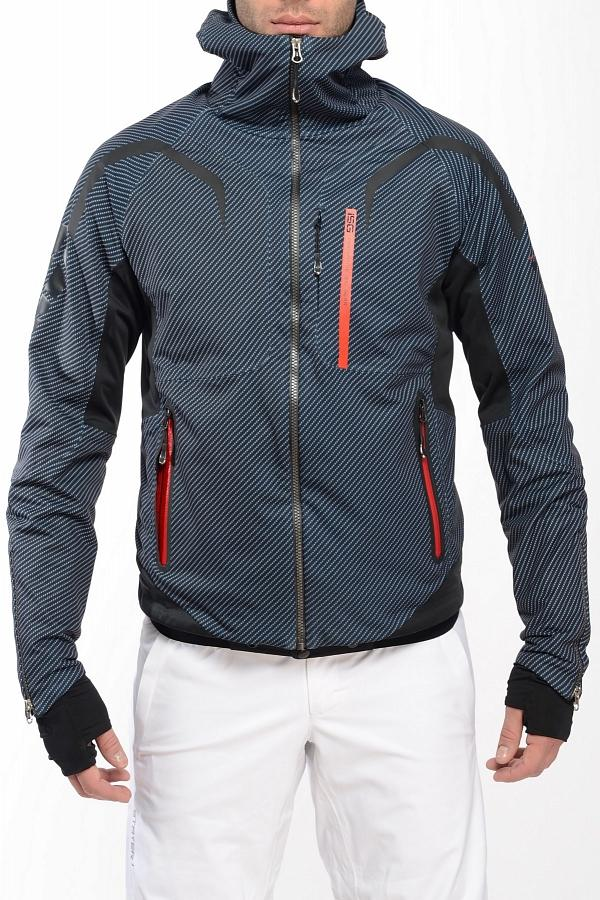 Куртка спортивная 409161Куртки<br>Стильная многофункциональная модель эргономичного кроя коллекции ISG из нового трехслойного эластичного материала Soft Shell, изделия из котор...<br><br>Цвет: Черный<br>Размер: 50